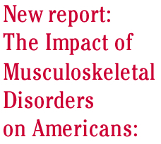 The Impact of Musculoskeletal Disorders on Americans